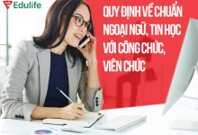 quy định về chuẩn ngoại ngữ, tin học với công chức, viên chức