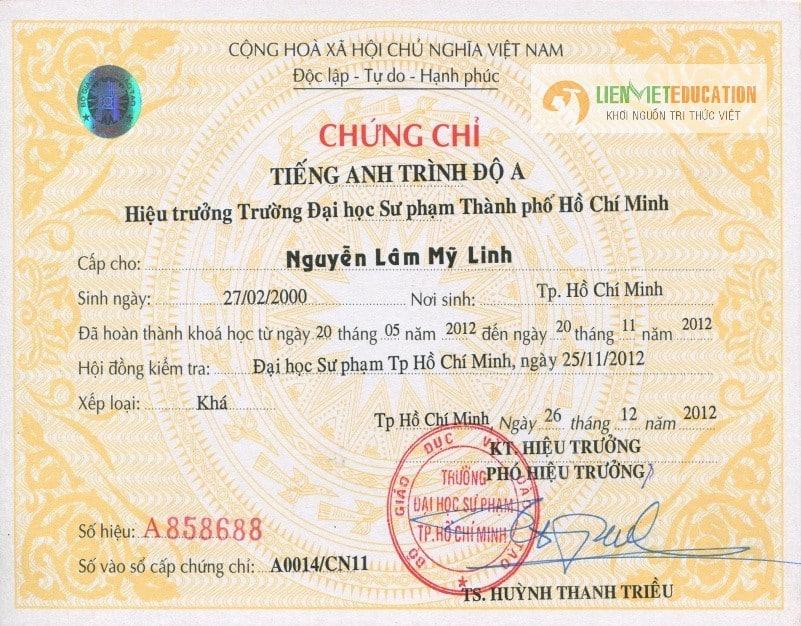 Photo of Các loại chứng chỉ tiếng anh thông dụng nhất tại Việt Nam – Đánh giá độ khó – Lệ phí thi từng loại