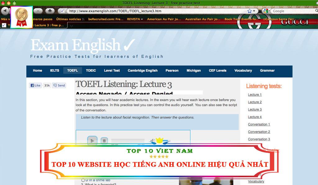 Học tiếng Anh B1