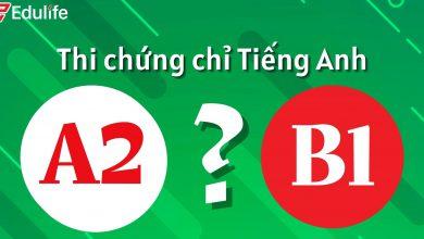 Photo of Nên thi Chứng chỉ Ngoại ngữ A2 hay B1?